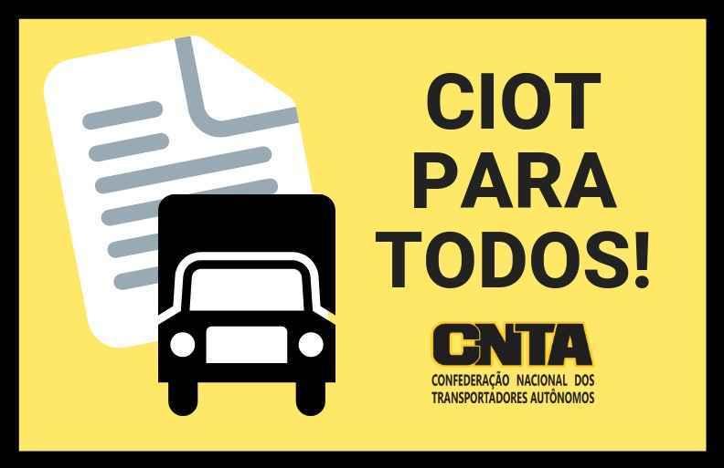 """CNTA defenderá o """"CIOT para todos"""" em audiência pública da ANTT"""