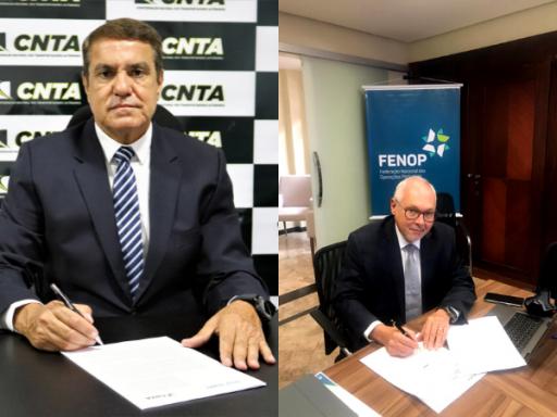 CNTA e FENOP assinam Acordo de Cooperação Técnica